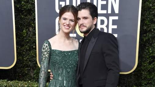 """Звезды """"Игры престолов"""" Кит Харингтон и его жена Роуз Лесли впервые станут родителями"""