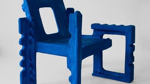 Екостільці з пінопласту: грецький дизайнер зробив химерні меблі – фото