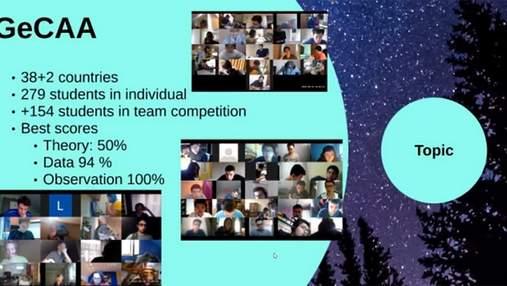 Украинские школьники заняли призовые места в соревновании по астрономии и астрофизике: имена