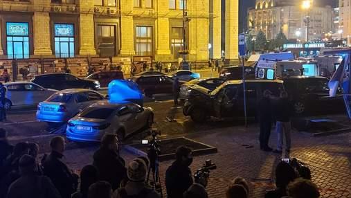 Був тверезим: у поліції показали момент жахливої ДТП на Майдані – відео 18+