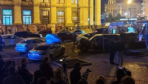Жахлива ДТП на Майдані: у прокуратурі визначилися із кваліфікацією справи