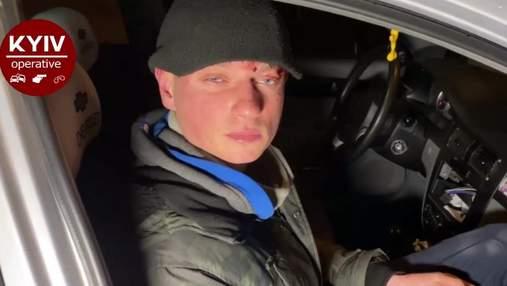 Не понимал, что происходит: в Киеве в ДТП попал нетрезвый работник СМИ – видео