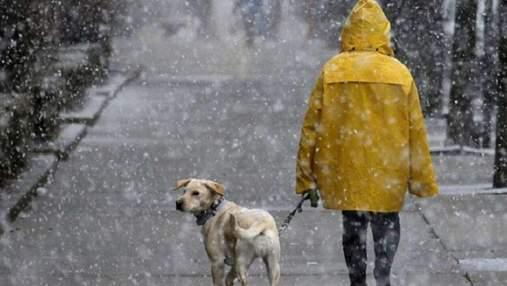 Дощ на Новий рік: прогноз погоди у Львові та області на 31 грудня та 1 січня