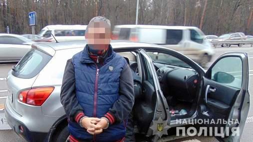У Києві затримали іноземця з наркотиками на 2,5 мільйона: фото