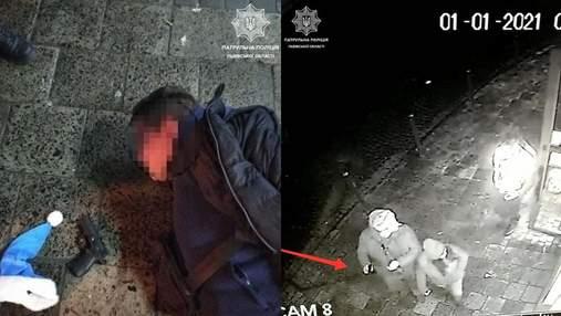 Кримінал у новорічну ніч: в центрі Львова чоловік влаштував стрілянину