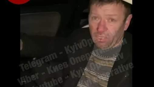 На Київщині п'яний водій збив 2 людей, забрав речі з машини й зник разом з поліцейськими