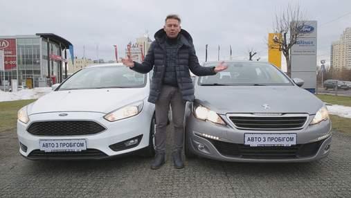 Big Test: сравниваем универсалы Ford Focus и Peugeot 308 SW