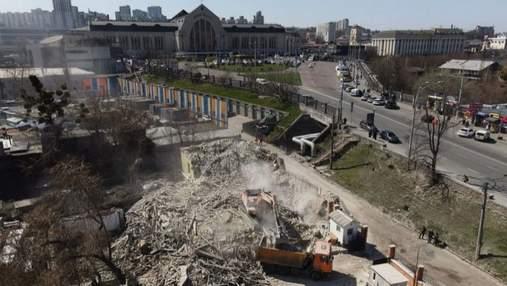 Исторический дом Уткина в Киеве снесли: прокуратура открыла уголовное дело