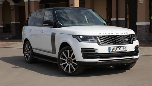 Вживаний Range Rover: скільки коштує утримувати авто депутата