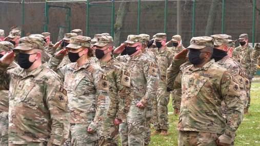Подготовка по стандартам НАТО: в Украине состоялась торжественная ротация военных США