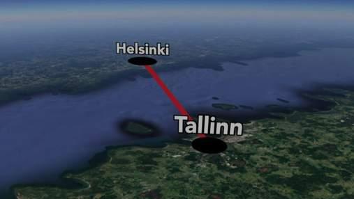 Хельсинки и Таллинн соединят подводным тоннелем: масштабный проект