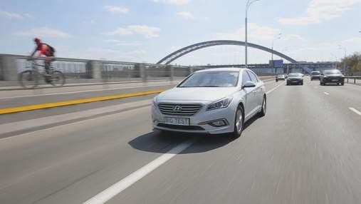 Подержанный Hyundai Sonata LPI: такси по-корейски