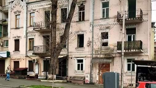 В центре Киева разрушается исторический дом: фото