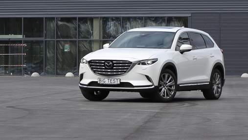 Mazda оновила свій флагманський кросовер СХ-9: тест-драйв автомобіля