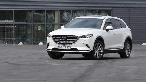 Mazda обновила свой флагманский кроссовер СХ-9: тест-драйв автомобиля