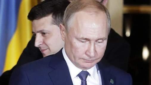 Путин проигнорировал вопрос об Украине