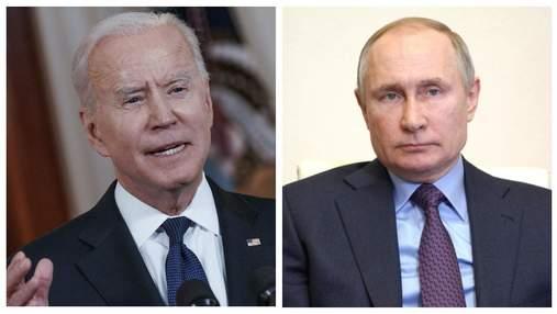 Промайнули зірниці: що розповів Путін після зустрічі з Байденом