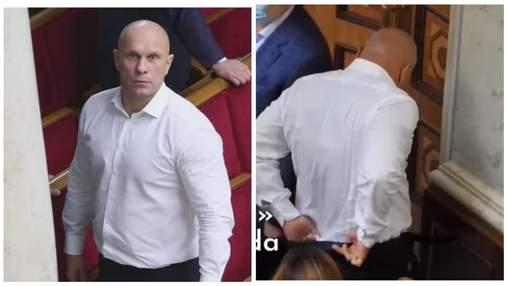 Снял штаны в зале: Кива снова оконфузился в Раде – видео