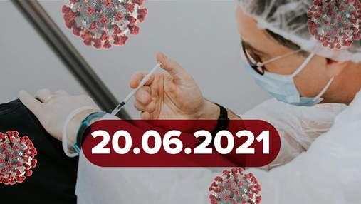 Новости о коронавирусе 20 июня: динамика упала, новая вакцина обладает высокой эффективностью