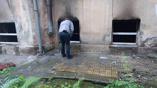 У Львові трапилась нищівна пожежа в закладі Kraft Burger: фото