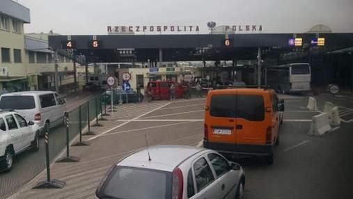 Усі КПП на кордоні з Польщею відновили свою роботу