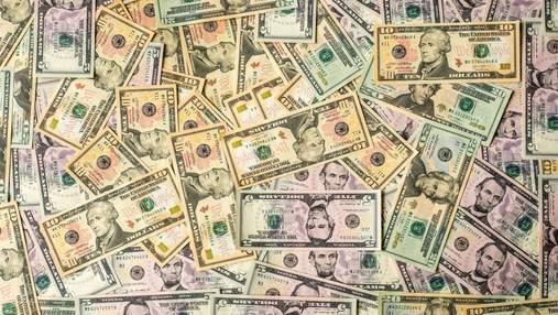 Зовнішній борг України скоротився на 3 мільярди доларів
