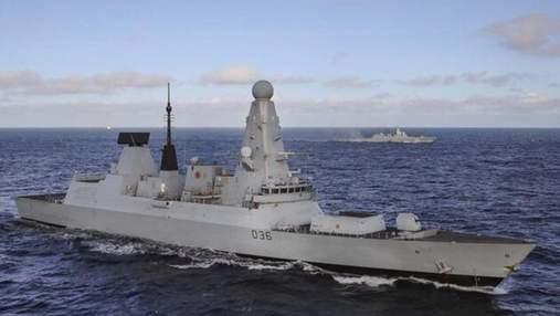 """Порушення міжнародного права, –  Міноборони про """"обстріл"""" британського есмінця"""