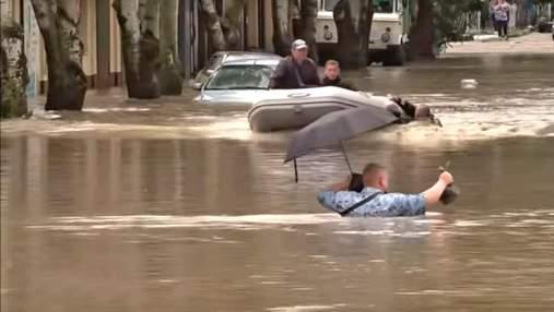 Три місячні норми: у Криму випала кількість опадів, яка побила рекорд 1991 року