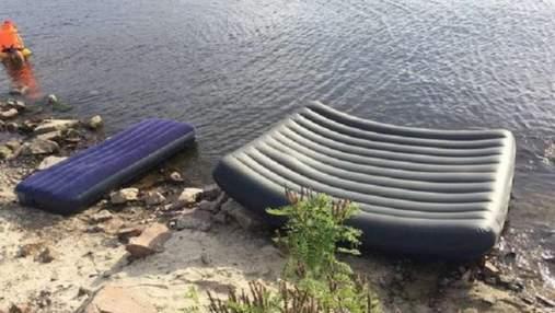 У Київському морі припинили пошуки тіла чоловіка, який потонув разом із дочками