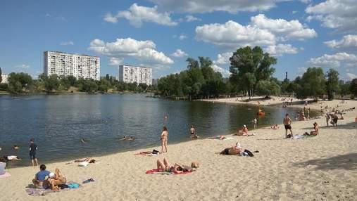 В Киеве не рекомендуют купаться на 5 пляжах: перечень
