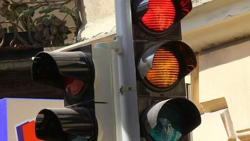 Не работают светофоры нескольких улиц Киева: где повышен риск ДТП