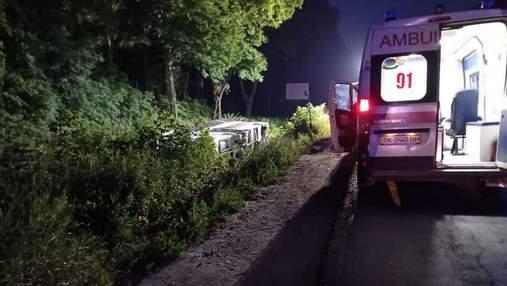 На Ровенщине перевернулся автобус Киев – Вроцлав: много пострадавших