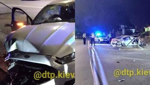 В Киеве в результате аварии погибла девушка: водителя взяли под стражу