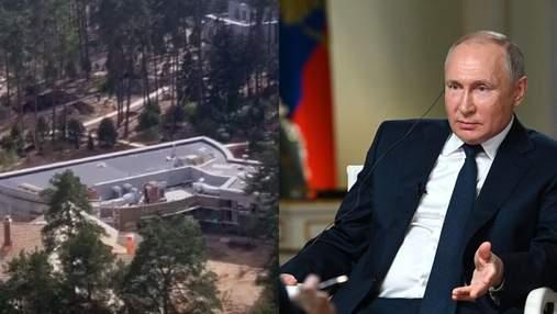 Біля резиденції Путіна знайшли таємне будівництво на сотні мільйонів доларів: фото і відео