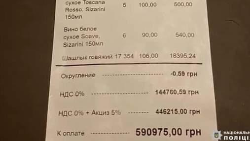 У Києві банда заманювала іноземців у бари через Тіндер: приносили захмарний рахунок й грабували