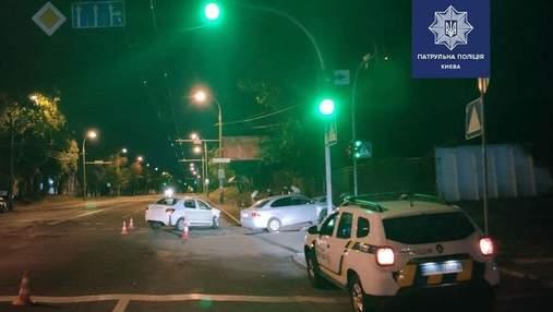 У Києві п'яний водій спровокував ДТП, в якому травмувалася його дитина