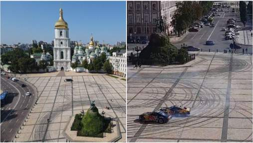 """Це неповага до столиці, – у заповіднику """"Софія Київська"""" відреагували на скандал з Red Bull"""