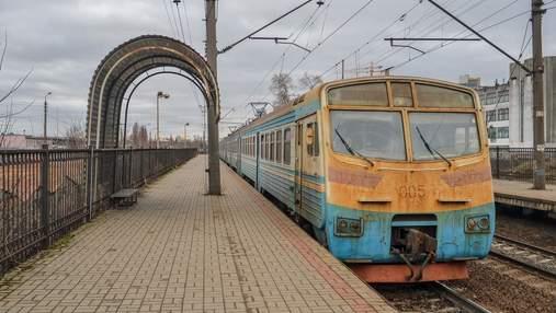 Частично остановят городскую электричку Киева: каких рейсов не будет