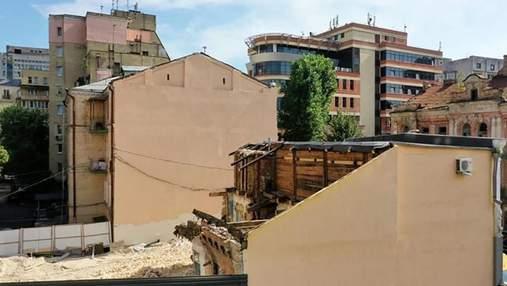 КГГА остановила разрушение исторического здания Малина