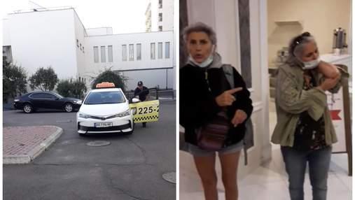 Ударил так, что слетели очки: в Киеве таксист напал на иностранок и наматывал круги для чаевых