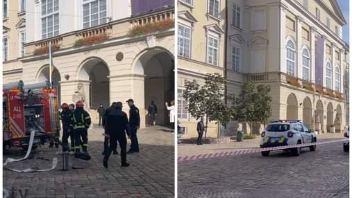 У Львові СБУ евакуювала працівників міської ради через антитерористичні навчання