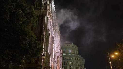 Кто будет реставрировать костел Святого Николая после пожара в Киеве
