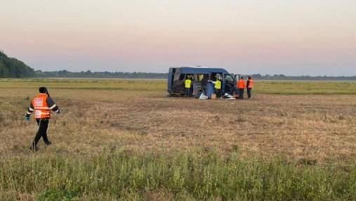На Київщині сталася смертельна ДТП за участю паломників-хасидів: фото з місця аварії