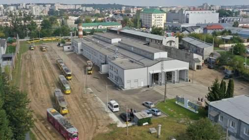 Во Львове наконец открыли обновленное главное трамвайное депо: интересные фото