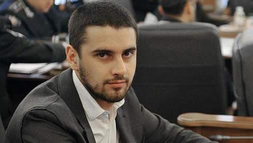 Екснардеп Дейдей звільнився з посади помічника глави поліції Києва