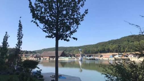 Винниківське озеро, яке висушили 3 роки тому, знову наповнили водою