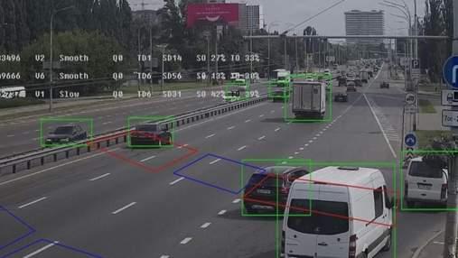 Чтобы избежать пробок: в Киеве ввели интеллектуальную транспортную систему