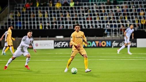 Зоря прикро поступилася в першому матчі Ліги конференцій