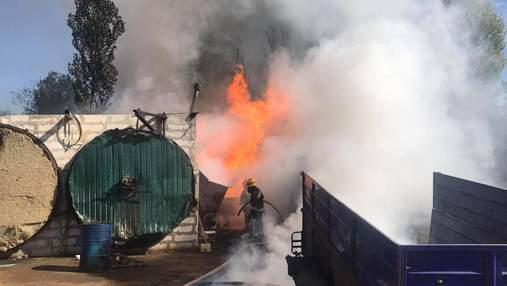 На підприємстві у Житомирі вибухнула 200-літрова бочка: є постраждалі