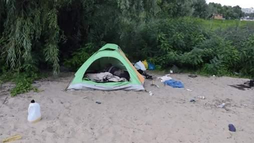 """""""Отчаянно боролась за жизнь"""": новые детали об убитой женщине, которая жила в палатке в Киеве"""